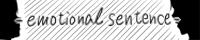 - emotional sentence -